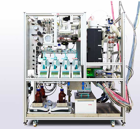 Box Image Epitaxial Transition Metal Catalyst Preparation Unit