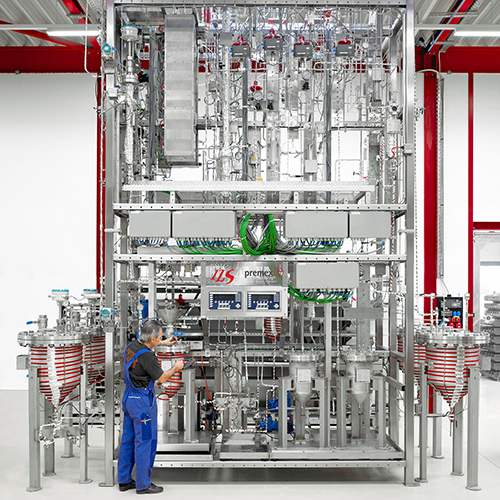 Box Image 2-Parallel Pilot-Scale Deep HDS plant with continuous atmospheric and vacuum distillation
